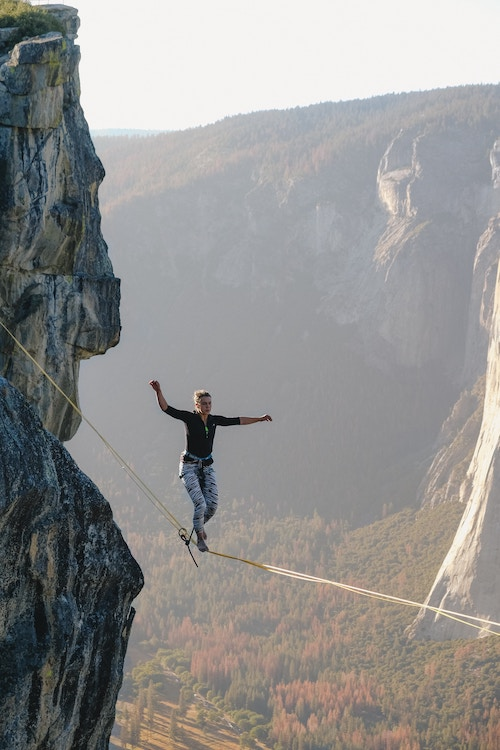 Delivering a presentation can be like walking on a tightrope and sometimes even though we practice we will forget our lines.
