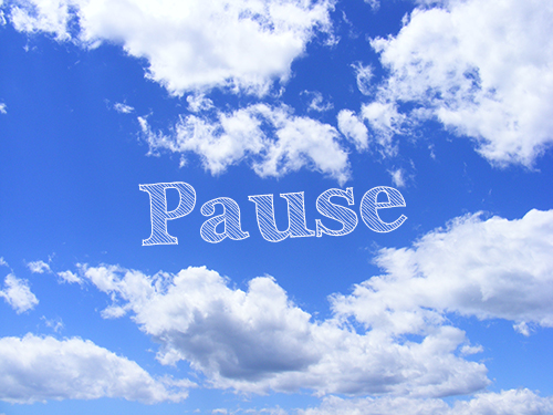 Pausing will make your voice more impactful