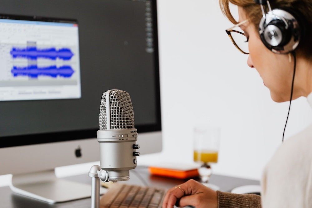 Recording a presentation using a program like Loom can help you find patterns on your own vocal habits.